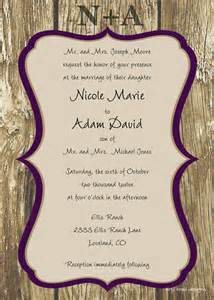 wedding invitations templates free for word free wedding invitation templates weddingwoow
