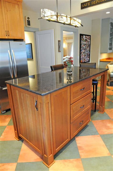 adding a kitchen island small project adding an island to an existing kitchen