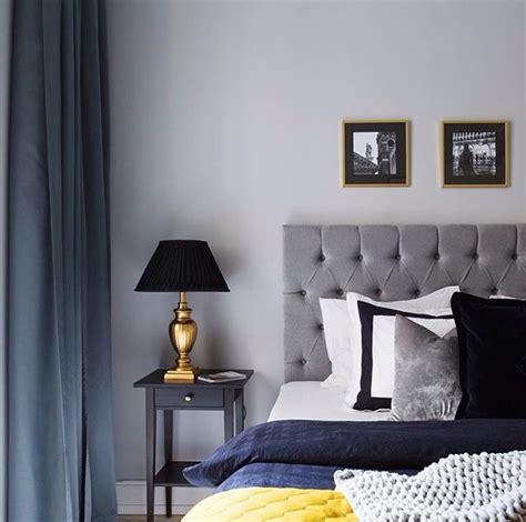 attachment blue and black bedroom lit chambre 224 coucher noir bleu rideau image