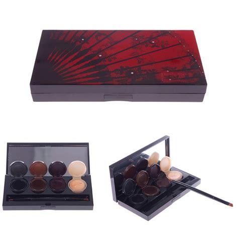 Eyeshadow Gel new 4 color eyeliner gel eyeshadow palette smoky makeup set with brush sdya 55401 in