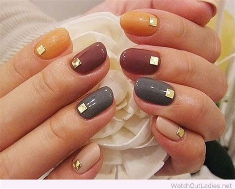 fall color nails best 25 simple fall nails ideas on neutral