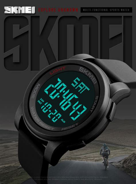 Skmei Jam Tangan Digital Pria Dg1139 Black 62own5 skmei jam tangan digital pria dg1257 black