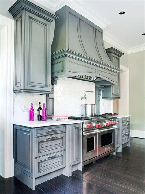 grey glazed kitchen cabinets pewter gray cabinets and ranges on pinterest