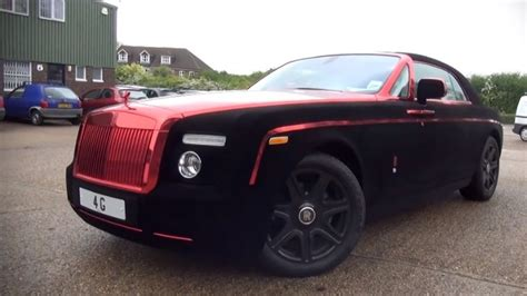roll royce chrome rolls royce phantom coupe wrapped in velvet and chrome