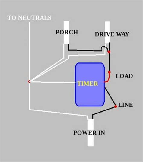 time switch wiring 18 wiring diagram images wiring