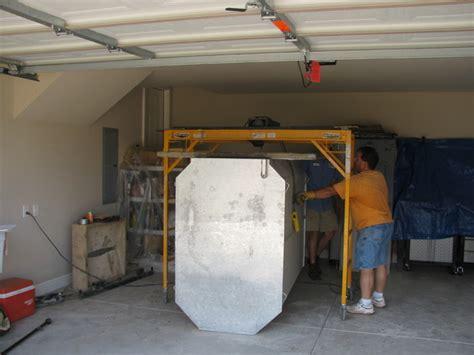 shelter garage installation