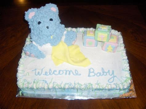 Worlds Worst Baby Shower Cake by Today Is Ciddys Cake Ideas And Designs