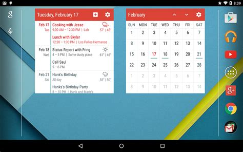 best android calendar widget event flow calendar widget android apps on play