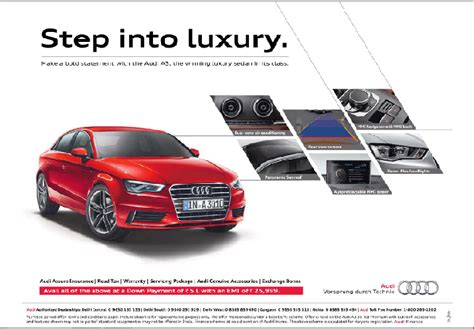 audi advertisement explaining graphics of audi ad design tdv medium