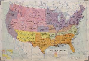 us civil war secession map covertress secession the for humanity