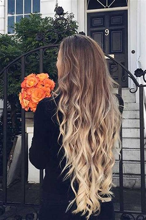 hairstyles with color for long hair 35 long ombre hairstyles long hairstyles 2016 2017