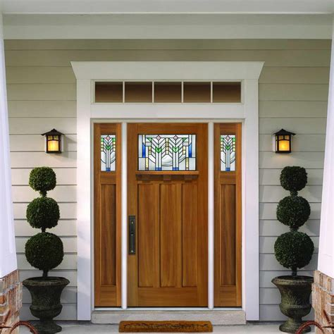 Attractive Front Doors Craftsman Front Door Wooden 12 Beautiful Craftsman Front Door Nurani