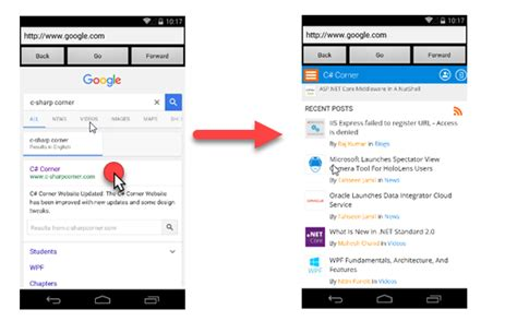 xamarin tutorial webview webview in xamarin android dzone mobile