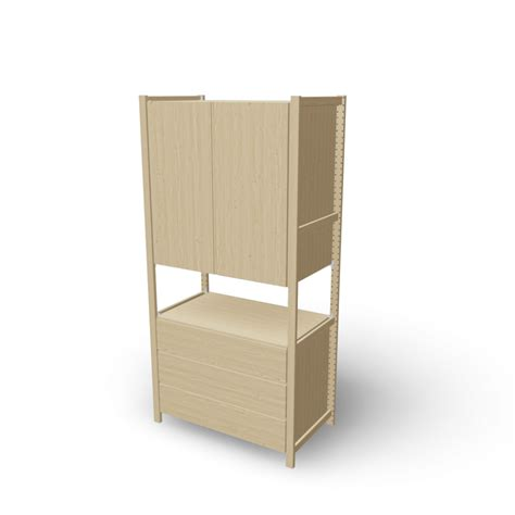 ivar cabinet ivar 1 sections cabinet chest design and decorate your room in 3d