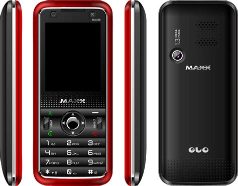 maxx mobile maxx mobiles launches gaming oriented maxx glo mx388