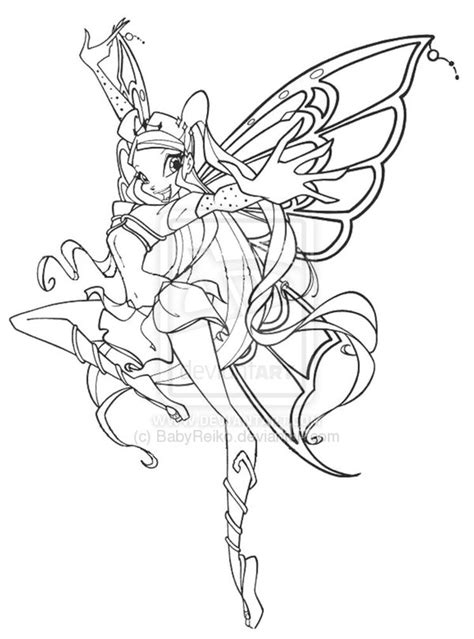 winx club coloring pages games winx club bloom enchantix coloring pages