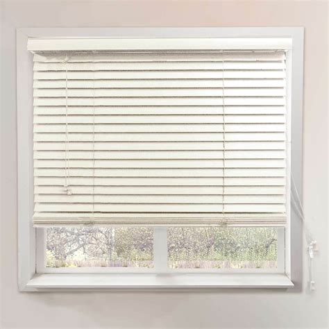 2 Inch Venetian Blinds chicology simply white or brown faux wood blind 2 inch
