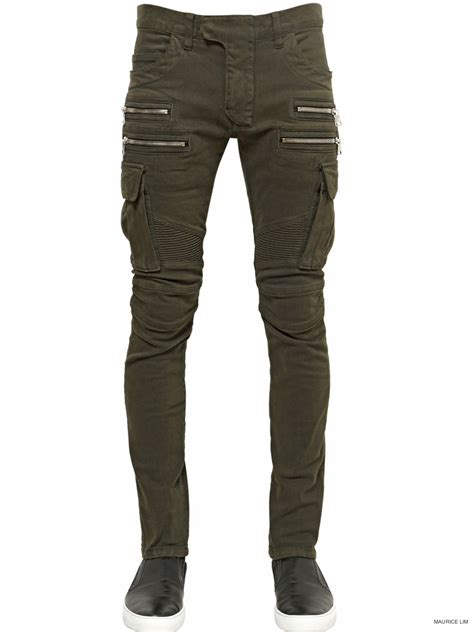 Cargo Jogger Black By Manly Foster mens denim cargo manly style