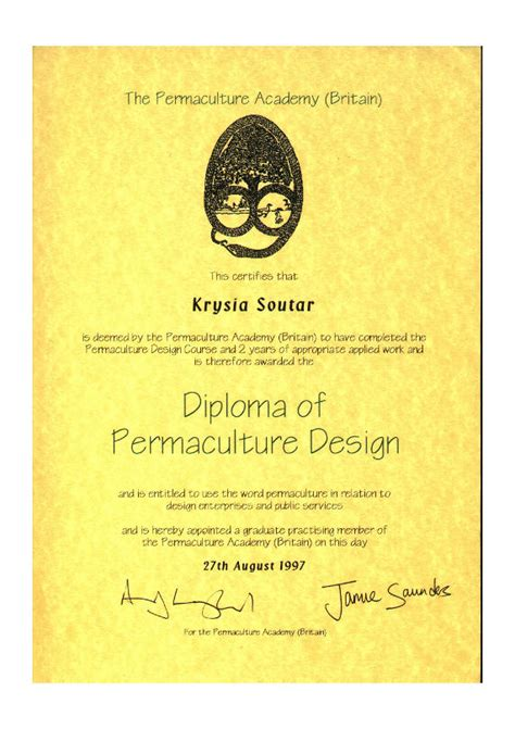permaculture design certificate jobs krysia soutar the northern school of permaculture