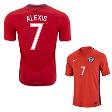 alexis sanchez jersey number nike chile alexis sanchez 7 soccer jersey home 2016 17