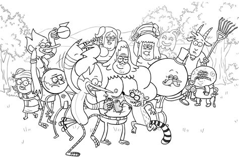 regular show coloring pages regular show coloring by stopinski on deviantart