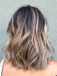 highlights to hide grey in darker hair purple highlights in gray hair dark brown hairs