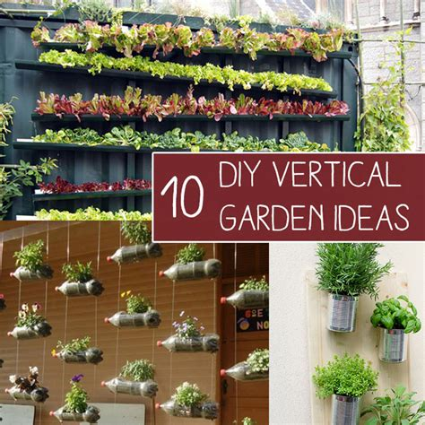 Diy Vertical Hydroponic Garden 10 Easy Diy Vertical Garden Ideas