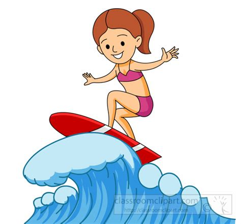 surfing clipart surfer clipart clipground