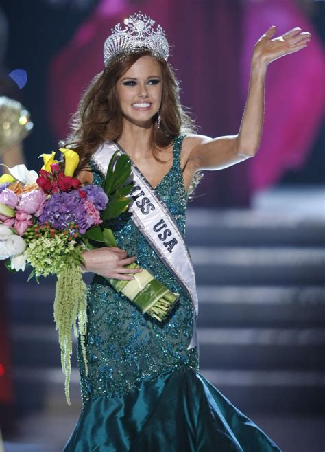 Miss Tennessee Smith Crowned New Miss Usa by American News Broadcasting Miss California Alyssa
