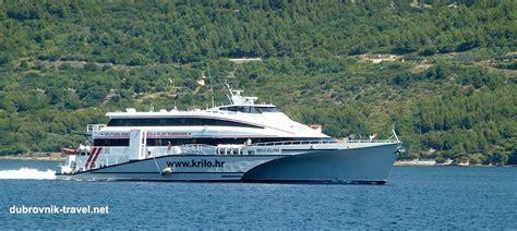 catamaran dubrovnik getting from hvar to dubrovnik