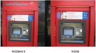 a handy way to foil atm skimmer scams