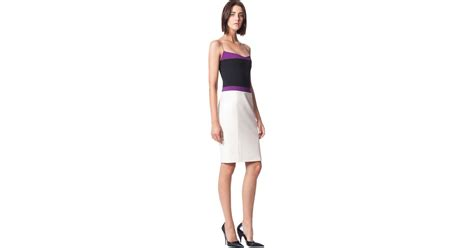 Who Wore It Better Narciso Rodriguez Lavender Tie Dress by Narciso Rodriguez Spaghetti Dress In Purple Fuchsia