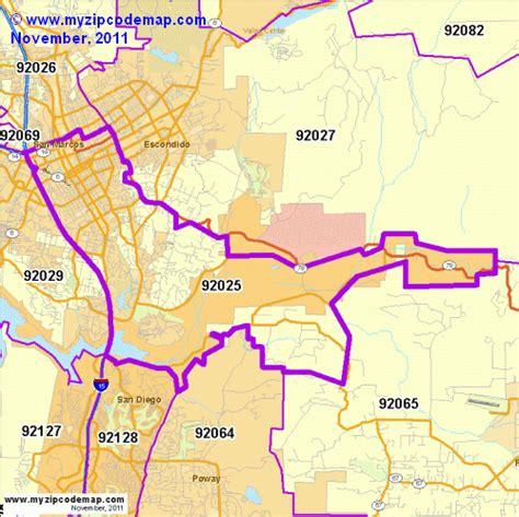 zip code map escondido ca zip code map of 92025 demographic profile residential
