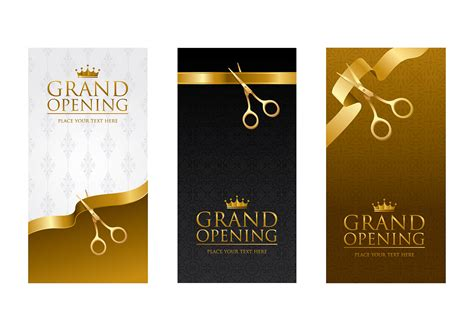 Ribbon Cutting Template Vector Download Free Vector Art Stock Graphics Images Free Ribbon Cutting Template