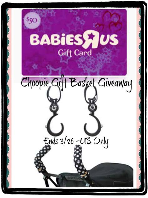 Babiesrus Gift Card - choopie citygrips and shopping at babiesrus would make it a memorable event