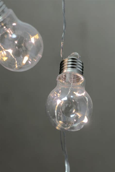 Fairy Lights In Clear Bulbs String Lights Led 20ct 28 Ft Clear Bulb String Lights
