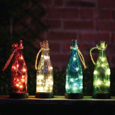 Solar Bottle Light Buy Hanging Glass Bottle Solar Light At Qd