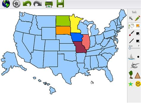 us map generator map maker 2 0 make your own usa world and nation maps