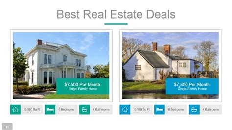 real estate powerpoint presentation template by rojdark