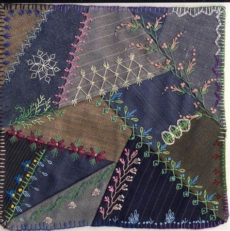 Patchwork Embroidery Stitches - quilt embroidery stitches lindab embroider it