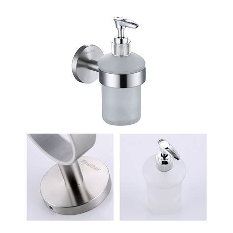 bathroom shower soap holder wall mounted soap dispenser pump action shoo bathroom