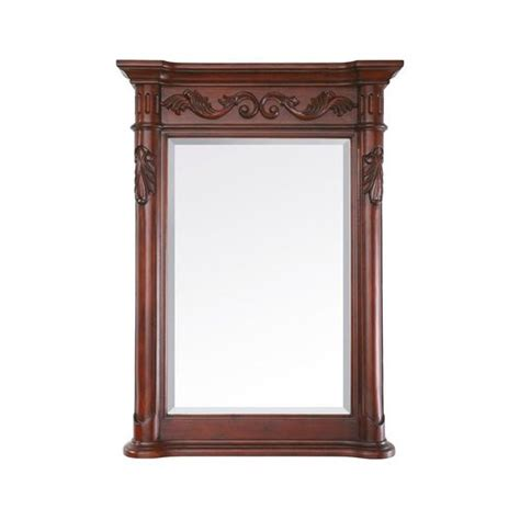 cherry finish medicine cabinet avanity provence 24 in mirror in antique cherry finish
