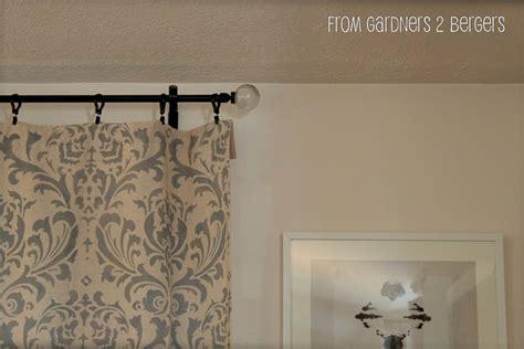 electrical conduit curtain rod electrical conduit into diy curtain rods diy pinterest