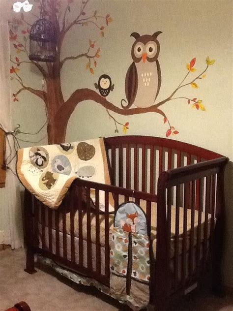 forest friends nursery bedding owl nursery