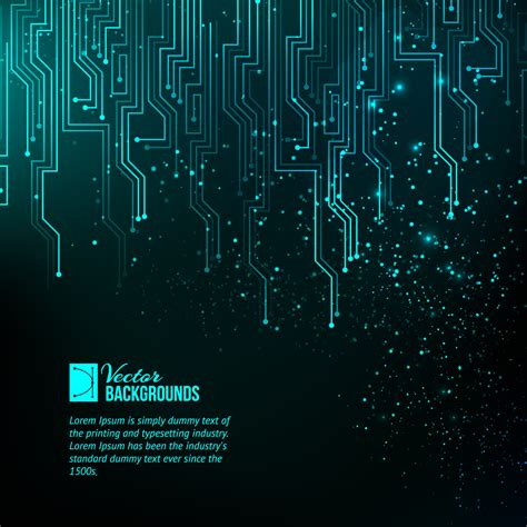 circuit board techno background imagesthai neon circuit