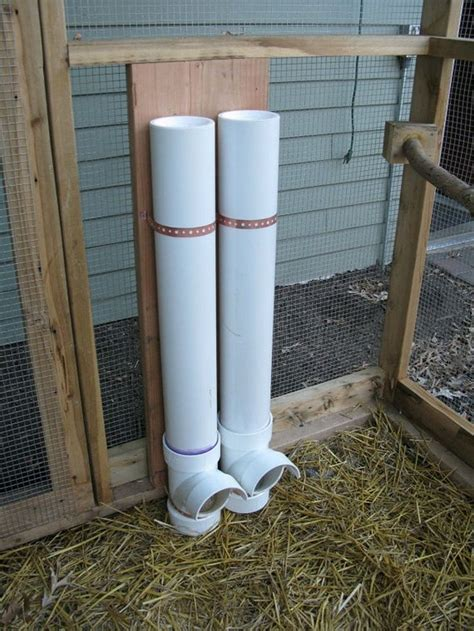 Feeders Pvc Pipe 25 best ideas about pvc chicken feeder on