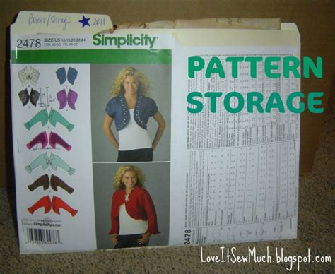pattern of organizing ideas 1000 images about sewing pattern organization on pinterest