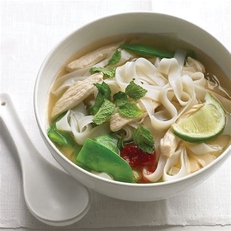 4321 Detox Reviews by Asian Noodle Soup With Chicken And Snow Peas