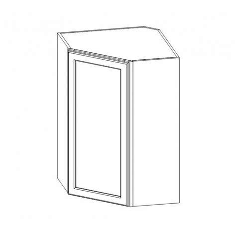wall diagonal corner cabinet wdc2436 thompson white wall diagonal corner cabinet