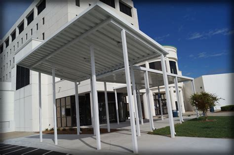 architectural awning dac architectural aluminum walkway covers canopies